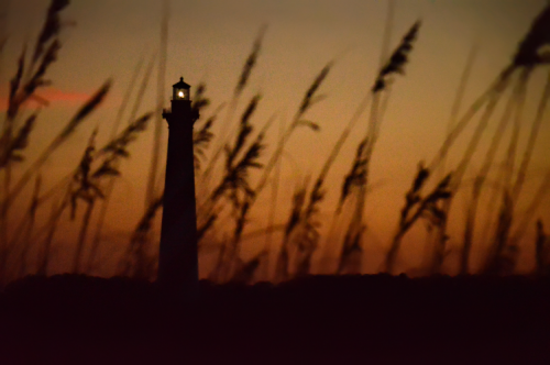 Fun fact. The Cape Hatteras Lighthouse was built in 1870, but that's not where it started out. The entire lighthouse was moved further inland, to keep beach erosion from toppling it into the water.