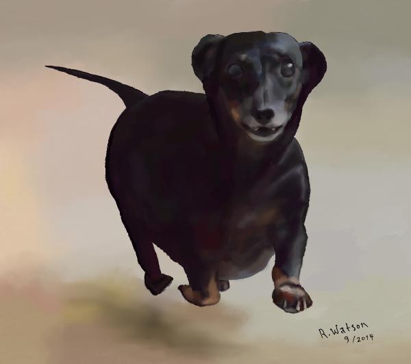 Drawing of Neece